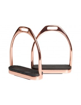 Etriers en inox Rose Gold - Harry's Horse
