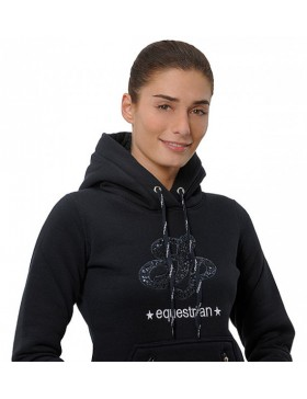 Sweat Awa Hoody sequin -...