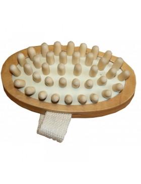 Brosse de massage à picot -...