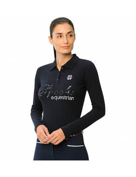 Polo manches longues Roxie...
