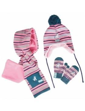Set bonnet, gants et...