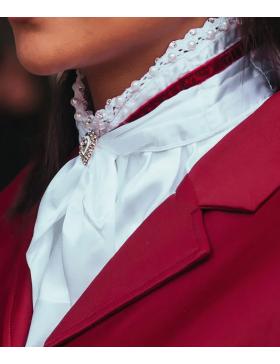 Cravate Queen Bordeaux -...