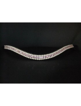Frontal strass et perles WW