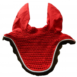 Bonnet anti-mouches Rg Italy rouge