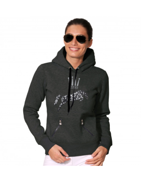 Sweat Logo Sequin Hoody - Spooks