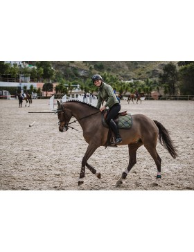 Tapis de selle Equestrian Stockholm - OLIVE