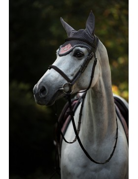 Bonnet anti-mouches Equestrian Stockholm - DUSTY PINK