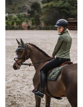Bonnet anti-mouches Equestrian Stockholm - OLIVE