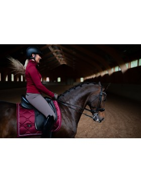 Tapis de selle Equestrian Stockholm - BORDEAUX