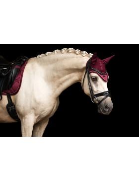 Bonnet anti-mouches Equestrian Stockholm - BORDEAUX