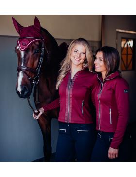 Veste Polaire BORDEAUX - Equestrian Stockholm