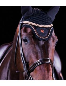 Bonnet anti-mouches Equito - Noir/Bronze