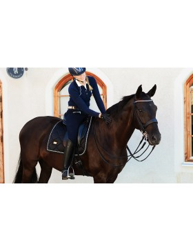 Tapis de selle Equestrian Stockholm - BLACK EDITION